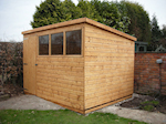 The sheds makers of cheshire - Pent Sheds image