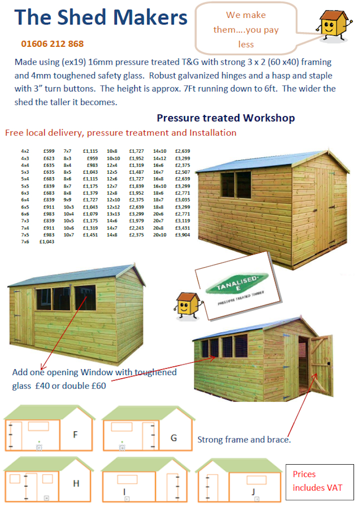 Tan Workshop Apex price list